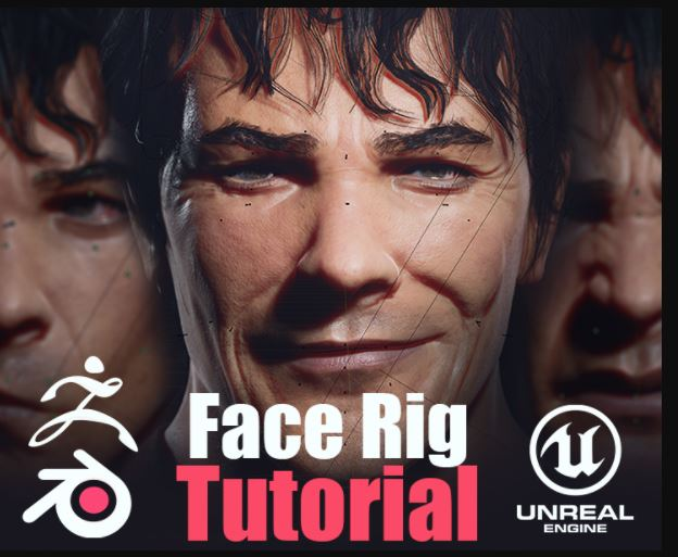 FlippedNormals Face Rigging in Blender Tutorial Free Download