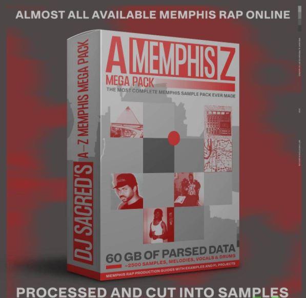 Memphis A-Z Mega Pack by DJ Sacred WAV FL STUDiO