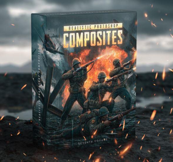 Realistic Photoshop Composites Seventh Voyage