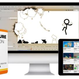 Bloop Animation – Stick Figure Animation (premium