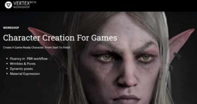 Vertex Workshop – Character Creation For Games by Ackeem Durrant