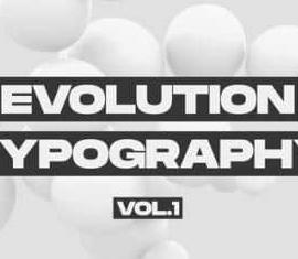 Premiere Pro Videohive Evolution Typography Media 30203514 Free Download