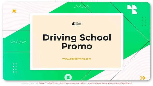 Videohive Driving School Promo 33601874 Free Download