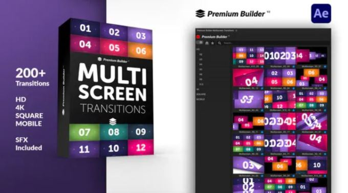 Videohive - Multiscreen Transitions