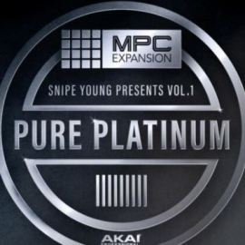 AKAI MPC Software Expansion Snipe Young Presents Vol.1 Pure Platinium [MPC] (Premium)