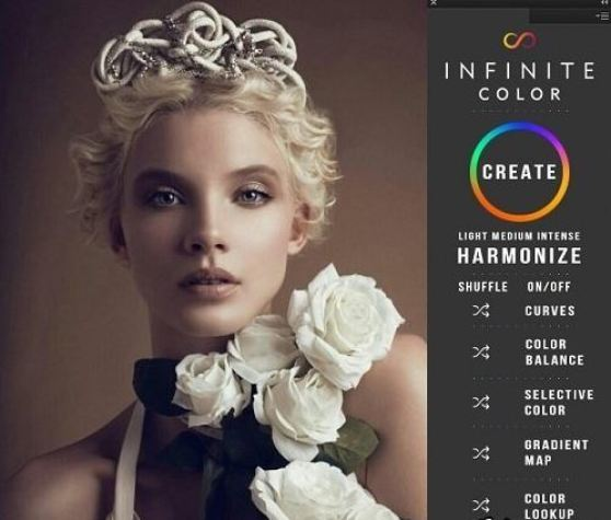 Infinite Color Panel Plug-in for Adobe Photoshop