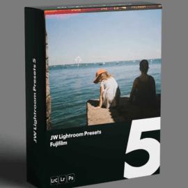 LUTS JW Lightroom Presets 5 — Fujifilm Free Download (Premium)