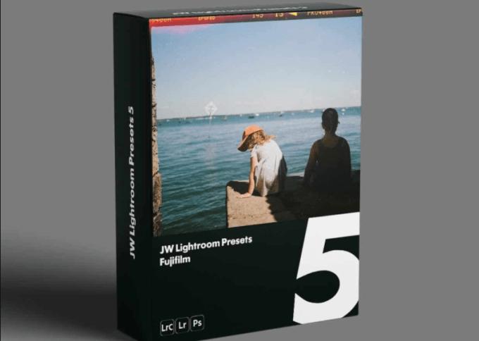 LUTS JW Lightroom Presets 5 — Fujifilm Free Download