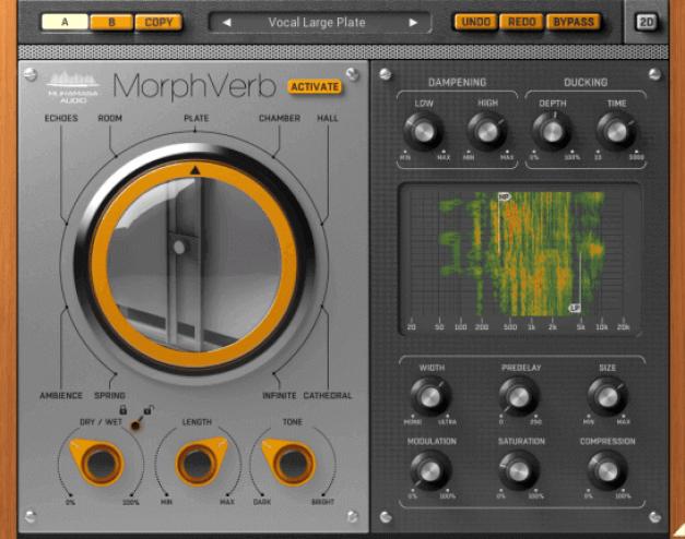 Muramasa Audio MorphVerb v2.1