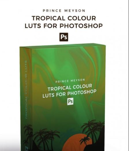 Prince Meyson - Tropical Colour LUTs For Photoshop