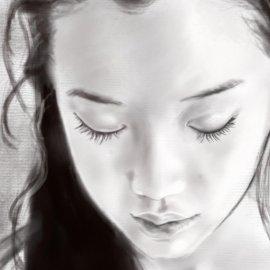 Realistic Portraits in Procreate: How to create a Grayscale Portrait (Premium)