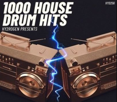 HY2ROGEN 1000 House Drum Hits [MULTiFORMAT]