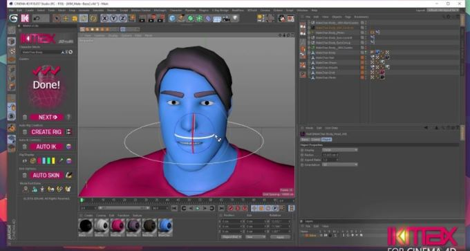 IKMAX for Cinema4D v1.9 R15 to S24
