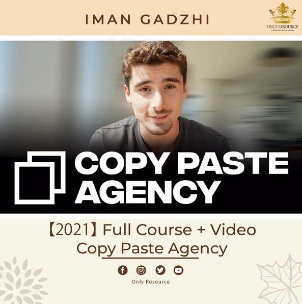 Iman Gadzhi - Copy Paste Agency + Update 1