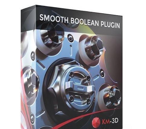 KM-3D SmoothBoolean v2.02 for 3ds Max 2013 - 2022