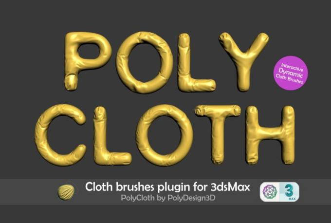 PolyCloth v2.02 for 3ds max 2016-2022