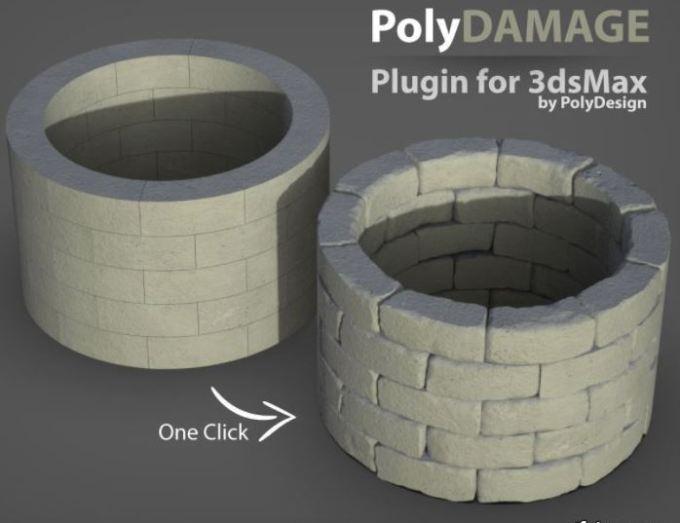 PolyDamage v1.01 for 3Ds Max