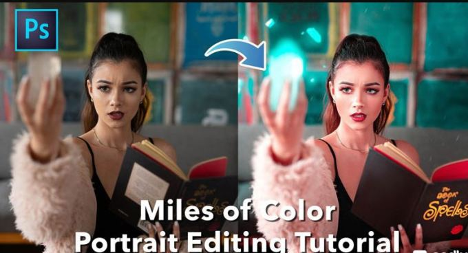 Sellfy - Miles of Color Portrait Editing Tutorial