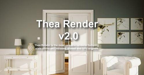 Thea For Rhino v3.0.150.1951 (x64)