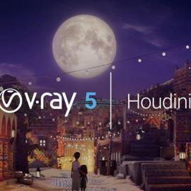 V-Ray 5.00.50 for Houdini 18.5.499