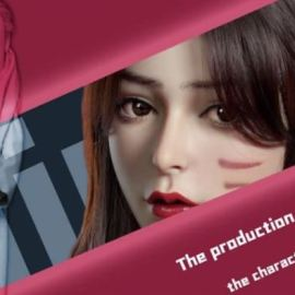 WingFox – Lady Gunslinger – A tutorial of production of a model of a fair lady character (Premium)