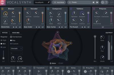 iZotope VocalSynth Pro v2.3.0 CE [WiN]