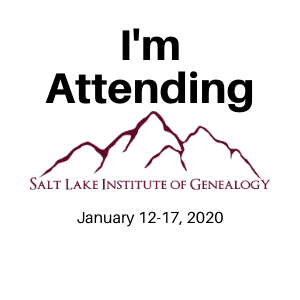 SLIG, Salt Lake Institute of Genealogy, Family History Research