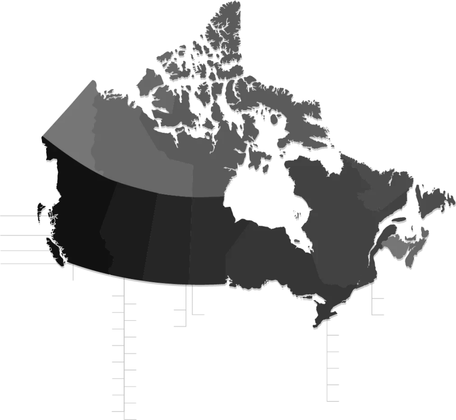 canada-map- world guardian security services