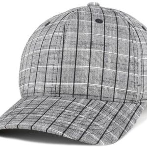 e015857609e Kangol Men s Plaid Flexfit Baseball Cap