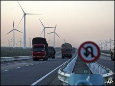 china wind farms
