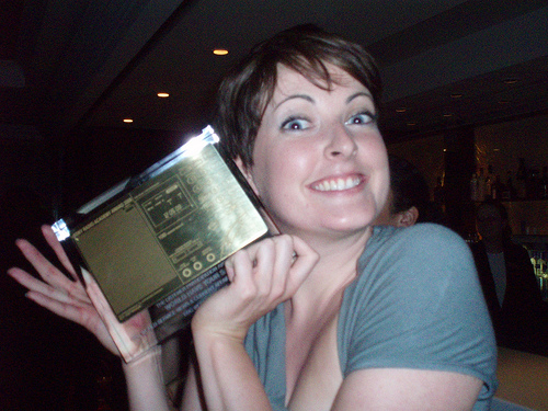 fiona and the award
