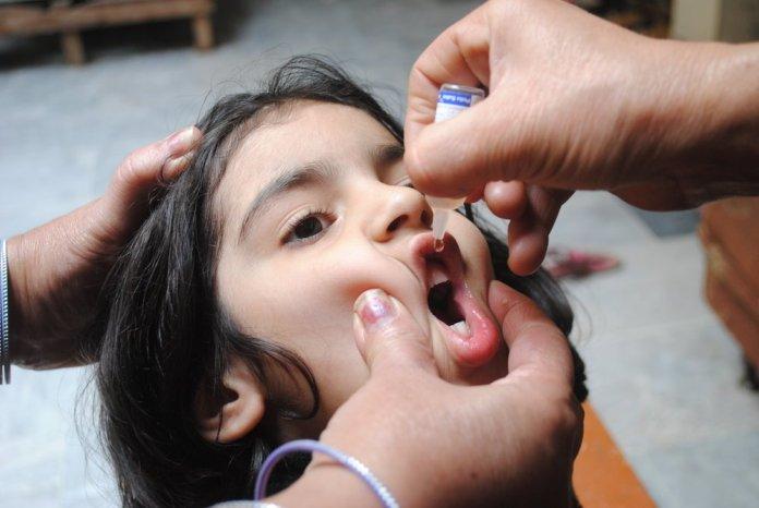Over 33 million children vaccinated in anti-polio campaign