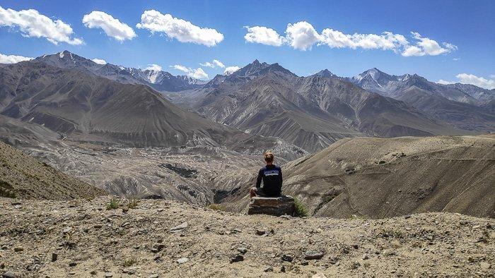 Waghan Valley in Tajikistan.