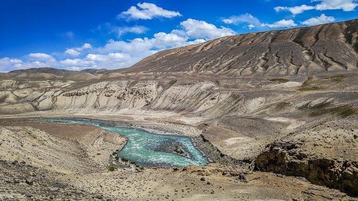 Pamir Highway beautiful sights