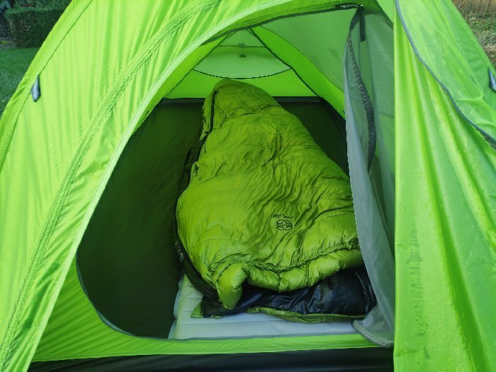Size of NatureHike tent