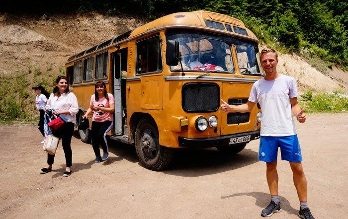 hitchhiking in armenia