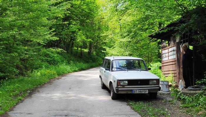 hitchhiking in Bulgaria