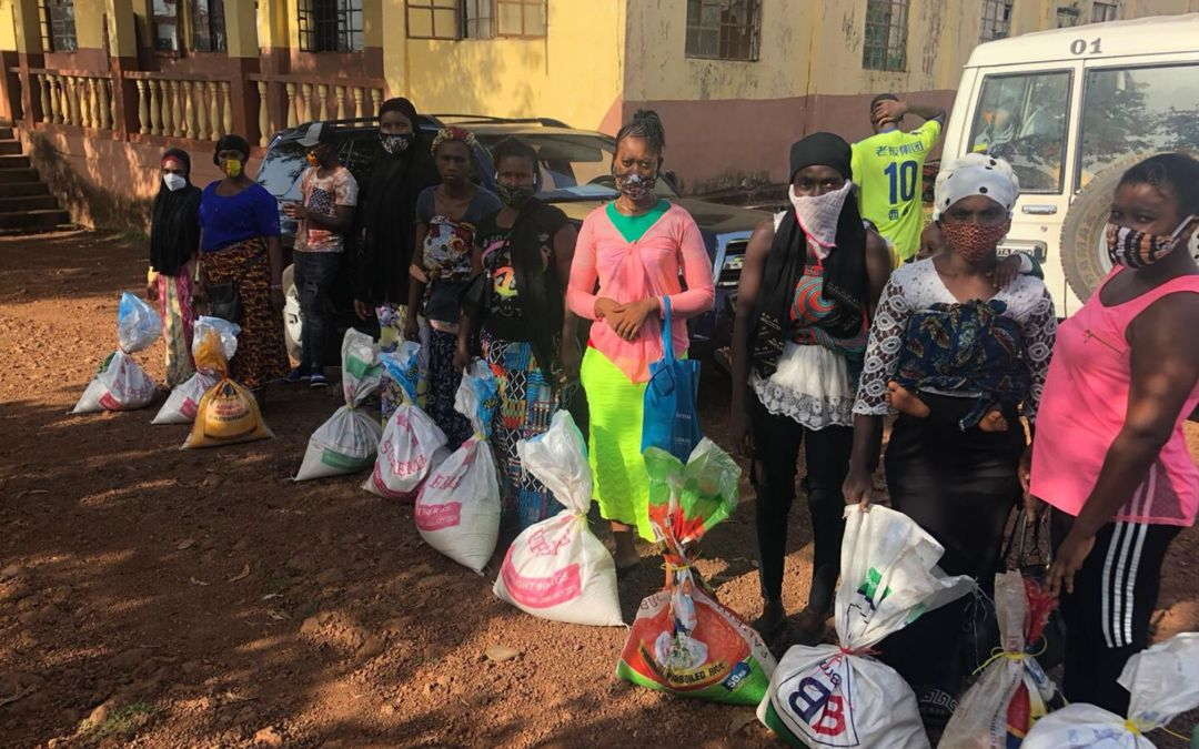 Food Distribution to Enable the Children Families