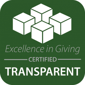 Excellence in Giving Certified Transparent