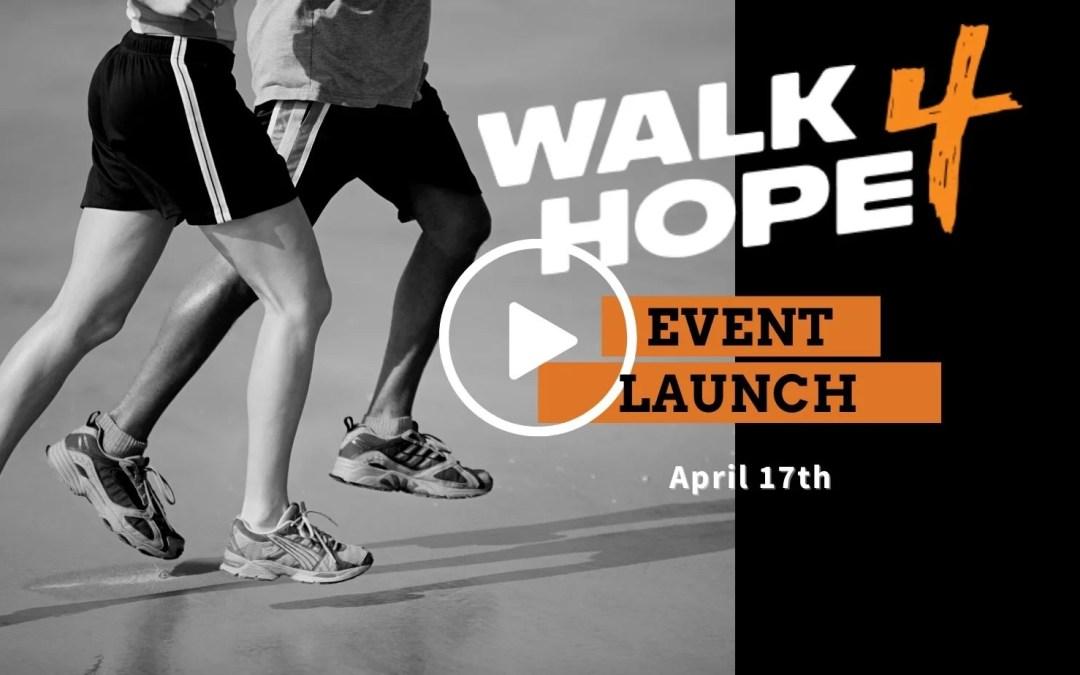 Virtual Event: Walk 4 Hope Kickoff