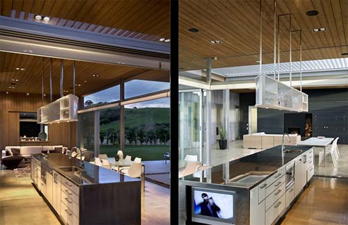 Luxury Kitchen Design Of Omaha Beach House By Xsites