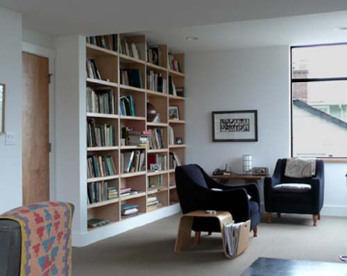 Reading Room North Capitol Hill Residence By Studio Ectypos Interior DesignArchitecture