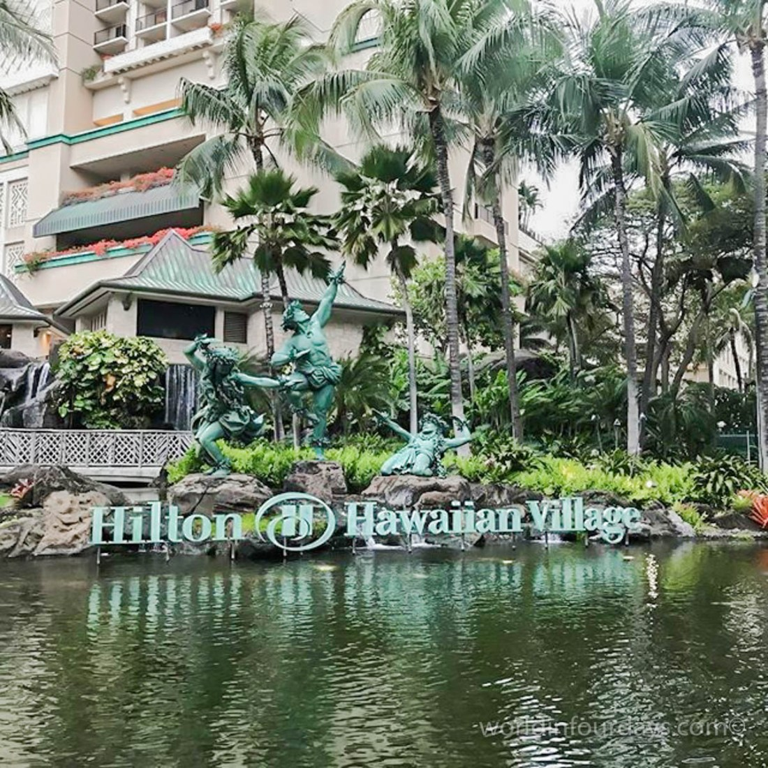 Hilton Hawaiian village best tower