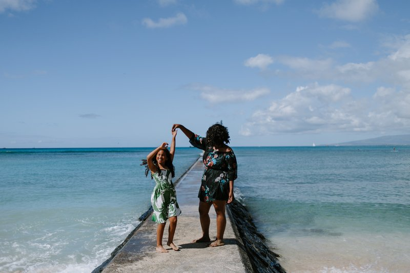 Hire A Travel Photographer, Flytographer, Oahu, Hawaii, beach