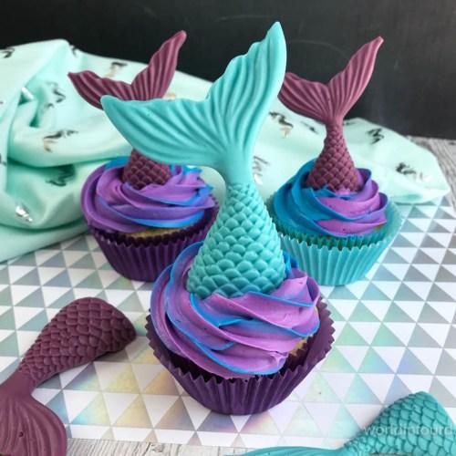Splash Into Summer With This Mermaid Cupcake Recipe