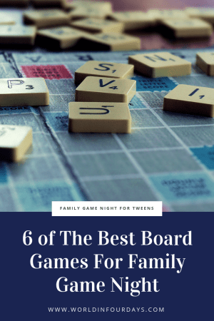 We made a commitment to unplug once a week and have fun without technology. At first, Reese thought it was the end of the world but we stocked up on a few board games and now she looks forward to game night. If you're looking to plan a family night with your tween, here are The Best Board Games For Family Game Night!