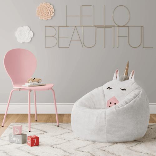 Character Bean Bag Chair White Unicorn Pillowfort™ Target