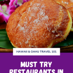 Grab your Hawaiian garb and join us for cheap eats Oahu, where the best way to catch the aloha spirit is to dine like a local. Hawaii North Shore FOOD GUIDE: here's a handy little guide to the best restaurants, cafes and food trucks on Oahu's North Shore, to plan your next holiday itinerary. It's time for another. Be ready to let your tummy run wild as you taste what Oahu is all about. Liliha Bakery. Pastries in Liliha Bakery. Romy's Kahuku Prawns & Shrimp. Meal from Romy's Shrimp truck. Helena's Hawaiian Food. Tasty kalua pig. Fresh Catch. Crab-stuffed ahi plate. Uncle Clay's House of Pure Aloha. Aiea Bowl. Rainbow Drive-In.