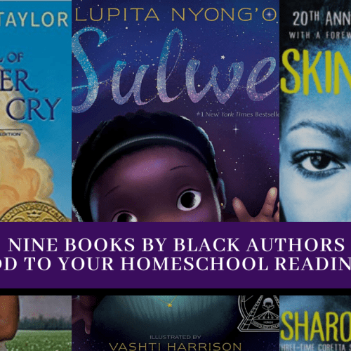 Homeschool ideas for Black History Month - Nine Books By Black Authors To Add To Your Homeschool Reading List