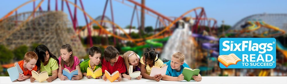 Looking for ways to encourage your child to read? How about free tickets to Magic Mountain. Magic Mountain is offering free tickets to Magic Mountain for any child (public school or homeschool) via the Six Flags Read to Succeed program who submits a reading long. Here's how to get your tickets.